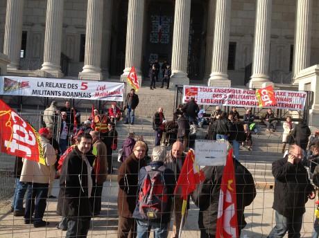 Le rassemblement de la CGT lundi à Lyon - Lyonmag.com