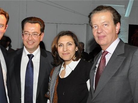 Philippe Cochet, Nora Berra et Dominique Perben - DR