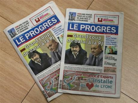 Le Progrès nouveau format est sorti mercredi - LyonMag