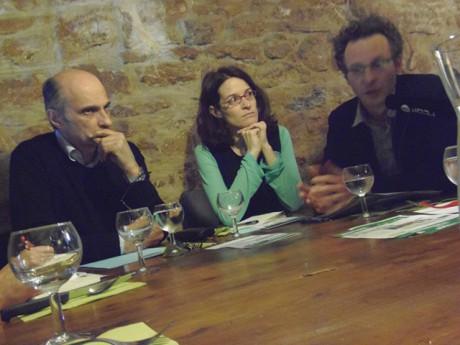 Etienne Tête, Emeline Baume et Luc Voiturier - LyonMag