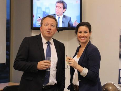 Christophe Boudot et Agnès Marion, le FN lyonnais était en fête - LyonMag
