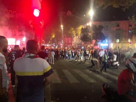 La joie des supporters algériens à la Guillotière - LyonMag