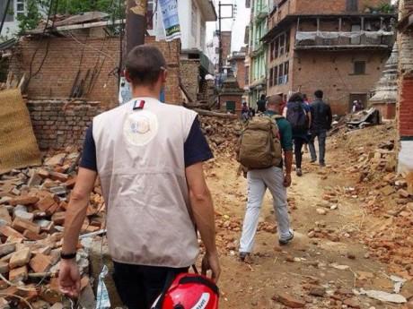 Séisme au Népal : quatre personnes originaires du Beaujolais retrouvées  - DR Casc Appui