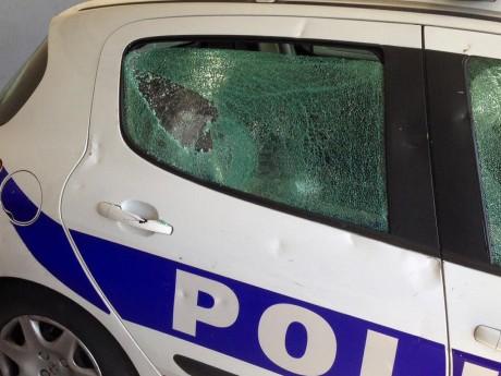 Les vitres ont été endommagées - DR Alliance Police