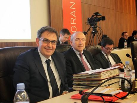 David Kimelfeld et Gérard Collomb font face à des militants et des élus rebelles au PS du Rhône - LyonMag