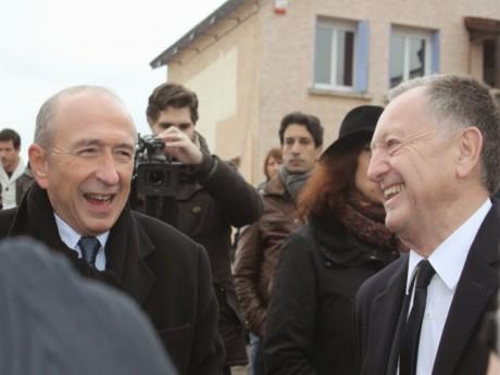 Gérard Collomb et Jean-Michel Aulas - LyonMag