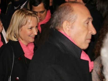 Caroline Collomb et son mari - LyonMag