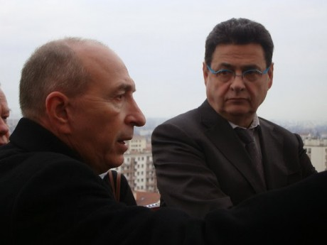 Gérard Collomb et Jean-Paul Bret, maires de Lyon et Villeurbanne - LyonMag
