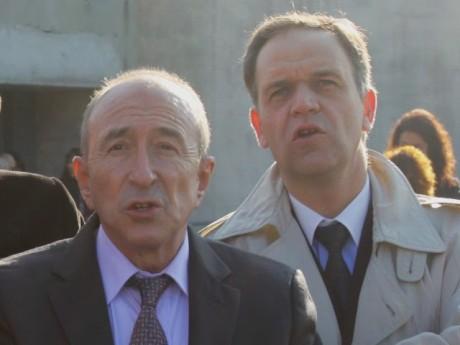 Gérard Collomb et François-Noël Buffet - Archives LyonMag