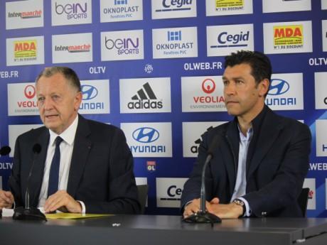 Jean-Michel Aulas et Hubert Fournier - LyonMag