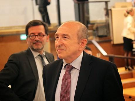 Benoit Quignon et Gérard Collomb - LyonMag