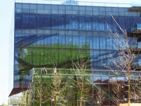 Le siège de GL Events dans le quartier de la Confluence à Lyon - LyonMag