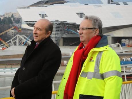 Gérard Collomb et Bernard Rivalta - LyonMag