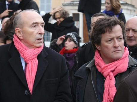 Thomas Rudigoz, ici avec Gérard Collomb - LyonMag