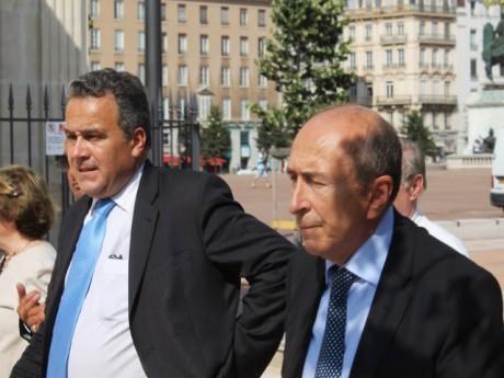 Denis Broliquier et Gérard Collomb - LyonMag
