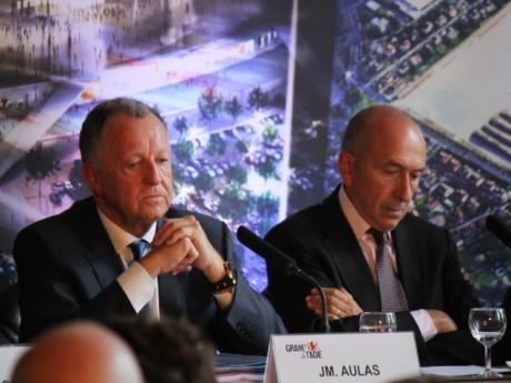 Jean-Michel Aulas et Gérard Collomb - LyonMag