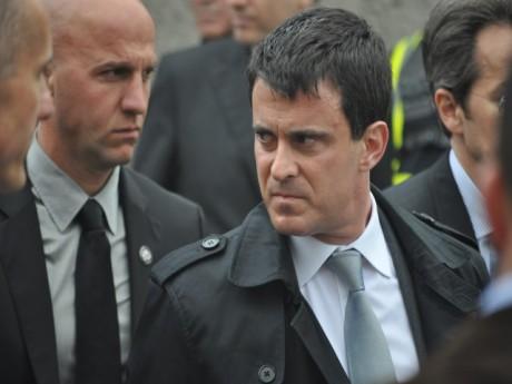 Manuel Valls, lors d'une précédente visite à Lyon - LyonMag
