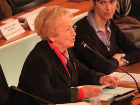 La présidente du Conseil Général Danielle Chuzeville - LyonMag