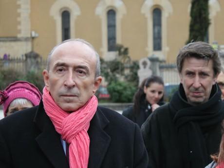 Gérard Collomb et Régis Guillet - LyonMag