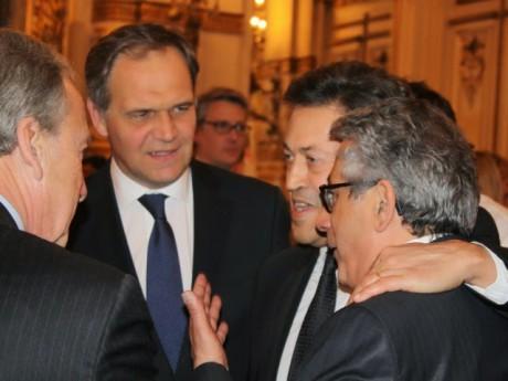 François-Noël Buffet et Georges Fenech (au centre) - LyonMag
