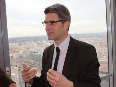 Christophe Geourjon a présenté son programme pour la Métropole ce mardi - LyonMag