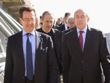 Philippe Cochet et Gérard Collomb - LyonMag