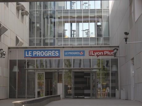 Le siège du Progrès à Lyon - LyonMag