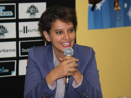 Najat Vallaud-Belkacem - Photo LyonMag
