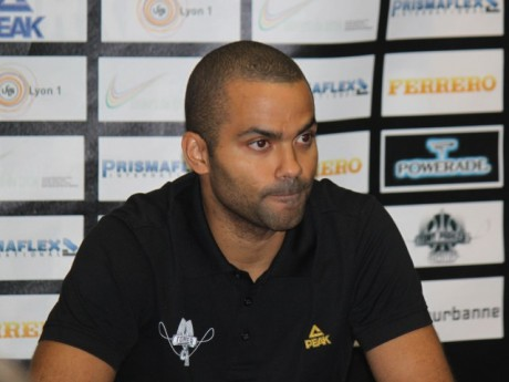 Tony Parker - Photo LyonMag