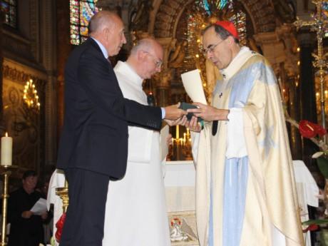 Gérard Collomb et le cardinal Barbarin - LyonMag