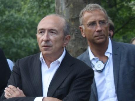 Gérard Collomb et Alain Giordano - LyonMag