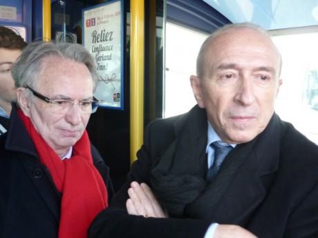 Bernard Rivalta et Gérard Collomb - LyonMag