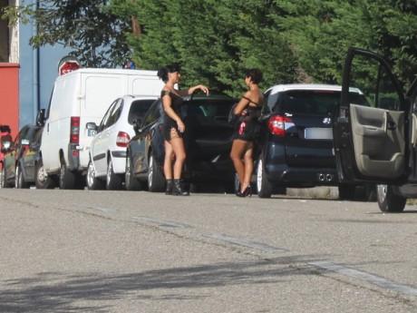 Des prostituées sur le quai Perrache - LyonMag
