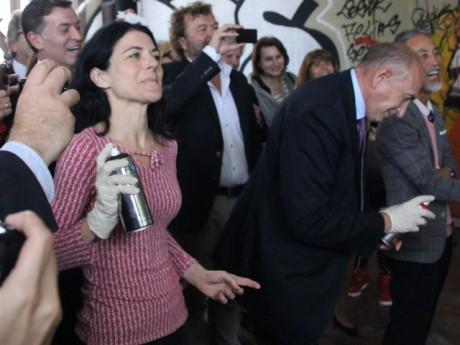 Nathalie Perrin-Gilbert et Gérard Collomb - LyonMag