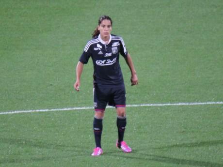 Amel Majri, blessée en cette fin de saison avec l'OL - LyonMag