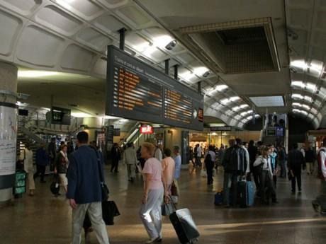 Le hall de la gare de la Part-Dieu où s'est déroulé la scène - LyonMag