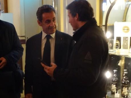 Nicolas Sarkozy à la Brasserie Georges à Lyon - LyonMag