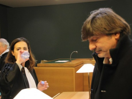 Michel Neyret et son avocate Me Sauvayre fille - LyonMag