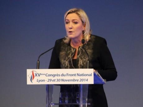 Marine Le Pen - LyonMag