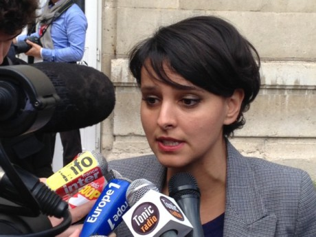 Najat Vallaud-Belkacem dans le viseur des critiques - LyonMag
