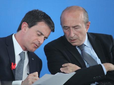 Manuel Valls et Gérard Collomb - LyonMag