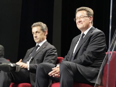Philippe Cochet, ici avec Nicolas Sarkozy - LyonMag