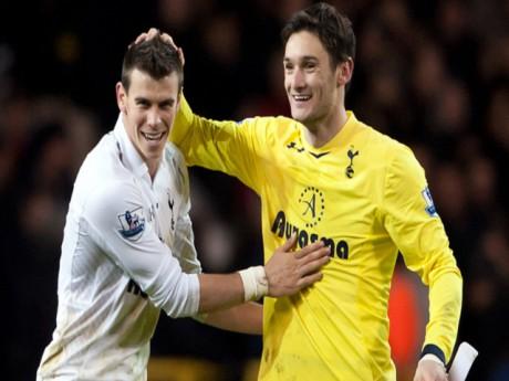 Lloris félicite Bale, une scène que l'OL espère ne pas voir jeudi soir - DR