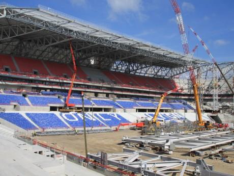 Le Grand Stade bientôt fini - LyonMag