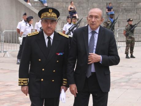 Michel Delpuech et Gérard Collomb - LyonMag