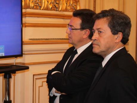 Philippe Cochet et Georges Fenech - LyonMag