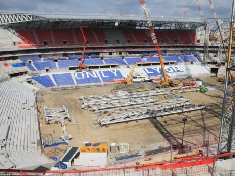 Le Grand Stade il y a quelques mois - LyonMag
