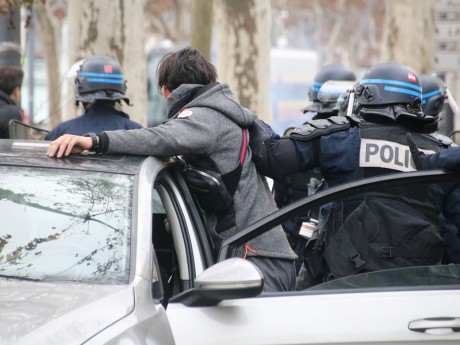 Interpellation de l'automobiliste de la voiture folle - LyonMag