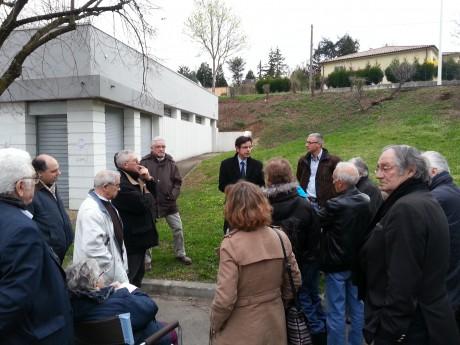 Emmanuel Hamelin a fait sa réunion dehors - LyonMag.com