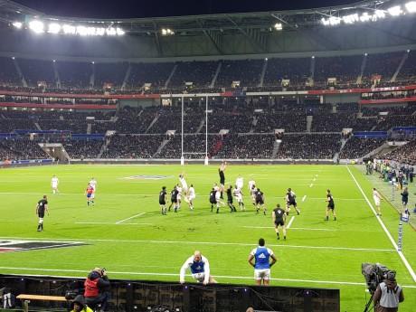 La rencontre a tourné à l'avantage de la Nouvelle-Zélande 28-23 - LyonMag
